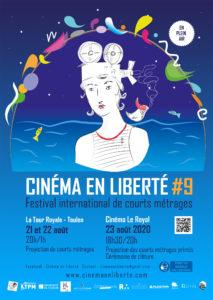 Affiche edition 2020 - Festival Cinéma en Liberté